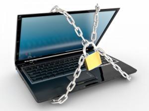 Chain representing website takedown