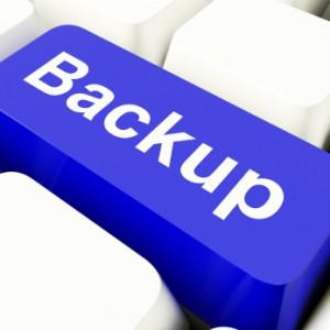 Backup Computer Key representing file backups