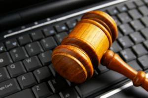 Domain name copyright