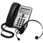 IP Phone and a headset representing BT domain names