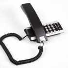 A modern desk phone representing VoIP capabilities