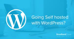 Self Hosted WordPress Post