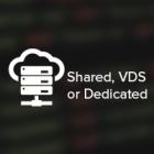 Hosting; Shared, VDS, Dedicated.