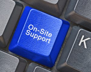 On_site_support_IT_Keyboard