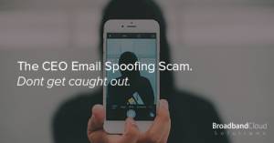 CEO Email Spoofing Scam
