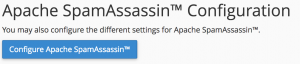 Configure Apache Spam Assassin
